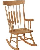 wooden rocking chair. Adult Wooden Rocking Chair - Natural