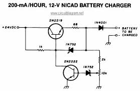 12v car battery charger schematic design adjustable regulated battery charger · 200ma hour 12v nicad battery charger