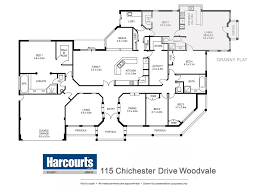 Woodvale  Chichester Drive   Harcourts Integrity   Harcourts    Floor Plans