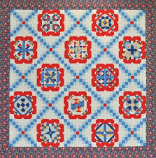 Patchwork Party 2014 - Quilted Treasures & Patchwork Bouquet Sampler Quilt Kit Adamdwight.com