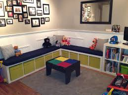 Toy Storage Furniture Living Room Kids Playroom Toy Storage Idea At Kids Bedroom Applying White