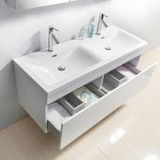55 inch double sink bathroom vanity:  virtu usa zuri  inch double sink white bath vanityjpg