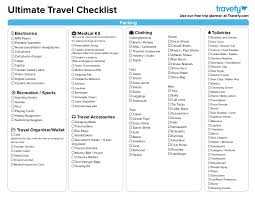 Ultimate Travel Planning & Packing Checklist