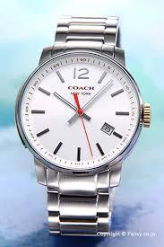 trend watch rakuten global market coach coach mens watch coach coach mens watch breecer bleecker white 14601523