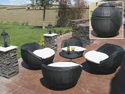 round patio lounge chair fresh best outdoor wicker lounge california package a in half round photo