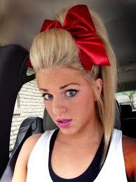 cheerleader red hair makeup cheer cheerleading
