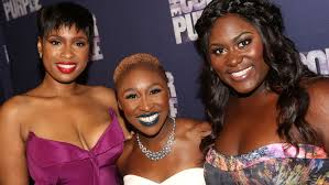 the color purple on broadway jennifer hudson danielle brooks   the color purple on broadway jennifer hudson danielle brooks fete the bright and dark sides hollywood reporter