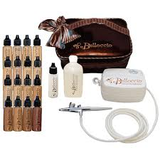 uk beauty part bel kit 16 belloccio 39 s plete professional airbrush cosmetic makeup system with