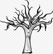Holiday ribbon vectors ai file. Black And White Dead Tree Clipart Cliparts And Others Halloween Tree Coloring Page Png Image With Transparent Background Toppng