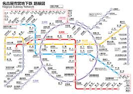 Subway Stock Price Chart Nagoya Municipal Subway Map Lines Route Hours Tickets