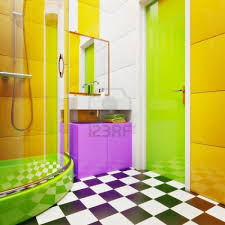 15 Eclectic Bathrooms With A Alluring Colorful Bathroom Designs Colorful Bathroom Ideas