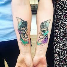 12 Nápadů Na Tetování Pro Všechny Milovníky Koček Sdílej Roger