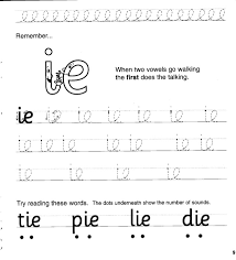 Just help your child identify the pictures and color or connect the correct sounds to make the word. Jolly Phonics Workbook 4 Ai J Oa Ie Ee Or