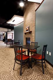 Church coffee shop...what if we set up several seating areas like this