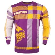 Minnesota Vikings Light Up Sweater Details About Minnesota Vikings Cadre Athletic Nfl Football