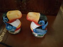 Small Picture Guinness Toucan Salt and Pepper Shakers Cruet Set Licence by