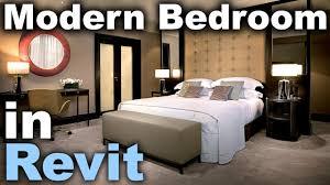 Modern Bedroom In Revit Tutorial Interior Design In Revit