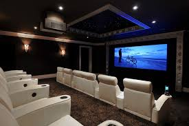 Small Picture Home theater in living room home theater contemporary with theatre