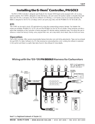 msd ignition wiring diagrams msd 6 hemi series installation instructions part 1
