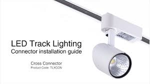 replacing track lighting. how to install track lighting cross connector replacing r