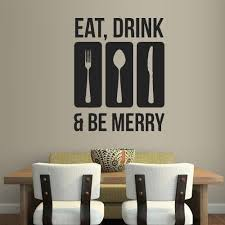 quote vinyl wall stickers for kitchen early decals kitchen art decoration eat drink be happy home on eat drink be happy wall art with quote vinyl wall stickers for kitchen early decals kitchen art