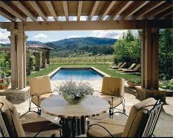 Terrace rustic-patio
