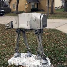 custom mailbox. Custom Star Wars Imperial AT-AT Mailbox MIKESHOUTS