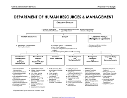 Download Human Resources Organizational Chart 3 For Free