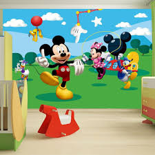 mickey mouse clubhouse wall decals home decor ideas inside mickey mouse clubhouse wall