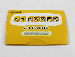 On which stereoscopic 3d games can be run without 3d glasses. Nintendo 3ds Augmented Reality Ar Cards
