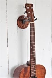 guitar wall mount etch wood sea life