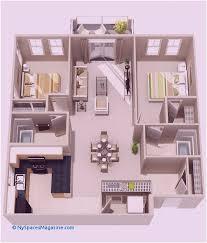 2 bedroom house plans 3d awesome 3d floor plan maker elegant house
