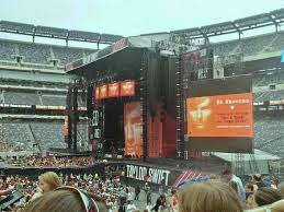 Metlife Taylor Swift Seating Chart Metlife Stadium Section 112 Row 15 Seat 15 Taylor