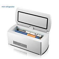 eleoption insulin cooler diabetic cine box with travel organizer cooler bag for insulin keeps cation