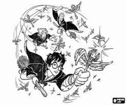 Kleurplaat Zwerkbal Harry Potter Und Der Gefangene Von Askaban