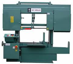 band saw parts labeled. double column bandsaw machine model h-2024-1 made in usa by wf wells band saw parts labeled u