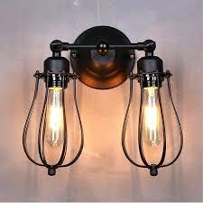 2 light chandelier
