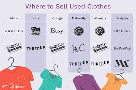 Where To Sell Used Clothes For Men Women And Kids
