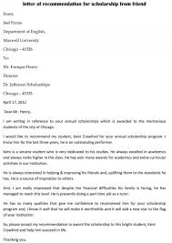 Scholarship Recommendation Letter Sample 013 Template Ideas Sample Recommendation Letter Scholarship
