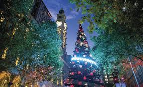 Sydney Streets With Christmas Lights Christmas In Sydney Christmas Lights Carols Choirs Markets