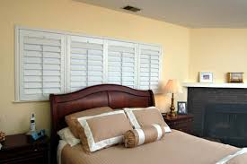 Faux Wood Shutters  San Diego CA Blinds In Bedroom Window