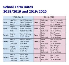 Term Dates | Uckfield College