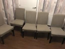 image is loading 5 x ikea beige henriskdal dining room chairs