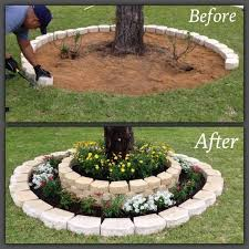 12 Creative DIY Ideas you are sure to Love! Maybe around palm trees in  backyard or the single one in front yard where tree removed
