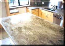concrete countertop s kitchen cement mix wood look with regard to inspirations 44