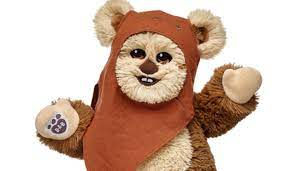 Official post from teddy rubskin. Exclusive Star Wars Wicket The Ewok Comes To Build A Bear