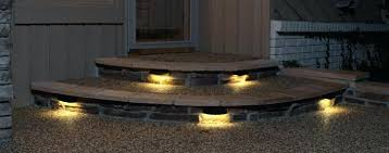 outdoor stairs lighting. Outdoor Stair Lights Led Step Photo 9 Recessed  . Stairs Lighting