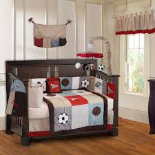 interior pretty sports baby bedding