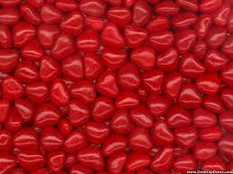 red heart wallpaper. Modren Heart Red Heart Candies Inside Wallpaper