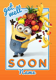 Get Well Soon Poster Get Well Soon Cards Funky Pigeon